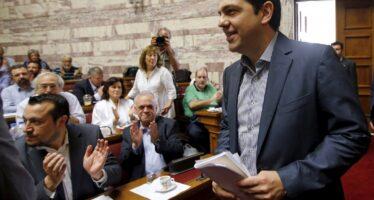 La mediazione di Syriza