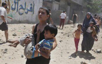 Bambini di Gaza traumatizzati per generazioni