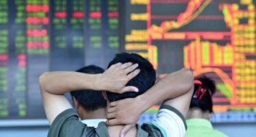 Il crollo della borsa in Cina