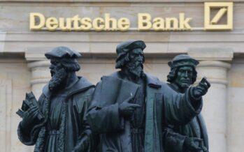 Deutsche Bank, il colosso traballa