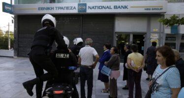 """Tra moneta unica e dracma.Atene riscopre il """"pagherò"""""""