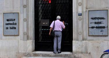 Atene, stop Bce alla riapertura della Borsa