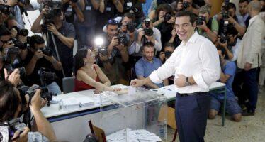 L'orgoglio greco nella notte delno
