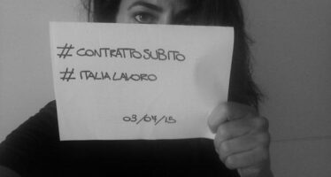 Jobs Act, la protesta dei precari di «Italia Lavoro »