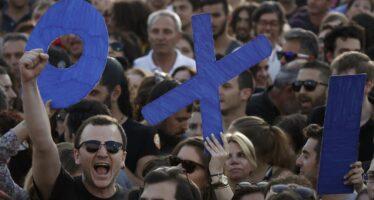 Alexis Tsipras: «Votiamo no erestiamo uniti»