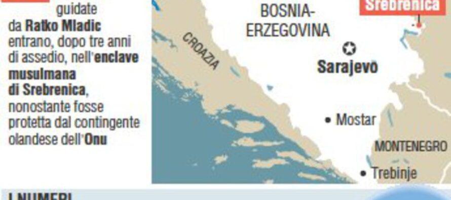 Guerra nella ex Jugoslavia: il Tribunale Internazionale condanna Mladic all'ergastolo