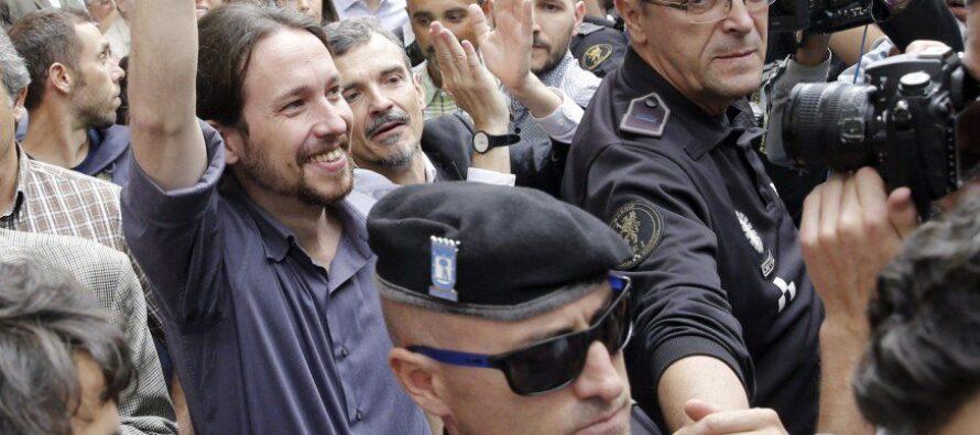 Linke ePodemos appoggiano Tsipras