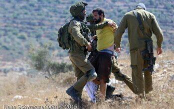 Italiano arrestato Filmava le violenze del soldato israeliano sul ragazzino