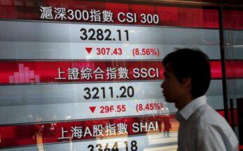 Crescita cinese a +7,3% la peggiore dal 1991