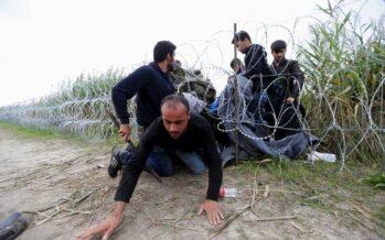 Ungheria, cariche contro iprofughi