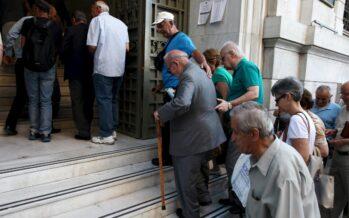 Effetto Memorandum: tagliate le pensioni minime
