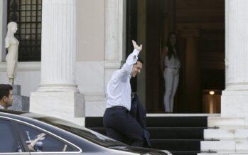 Tsipras lascia: «Per una Grecia più giusta»