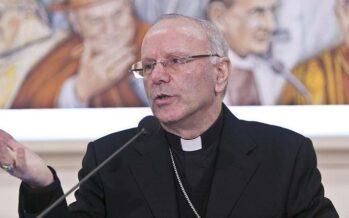 Monsignor Galantino: «Oggi la politica èsolo un puzzle di ambizioni»