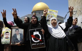 Israele alimenterà con la forza ipalestinesi in sciopero dellafame