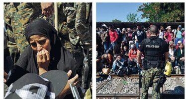 Quel varco tra Macedonia e Grecia dove inizia la speranza dei profughi