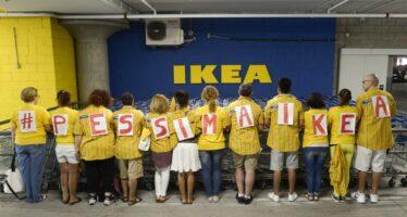 Agosto di scioperi all'Ikea