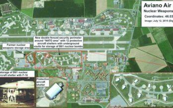 Verso l'Italia le nuove atomiche Usa