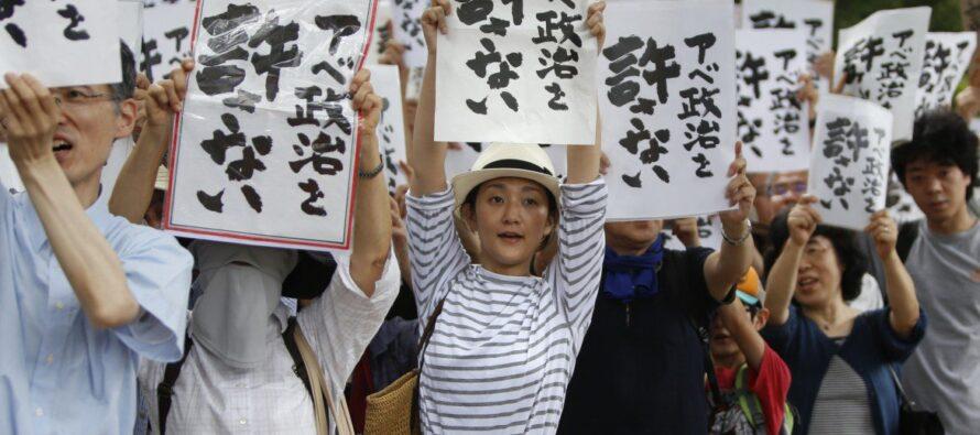 Il Giappone non èpiù inpace