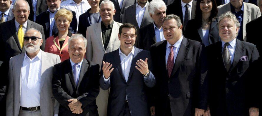 Tsipras detta icompiti: nuove leggi eniente tv