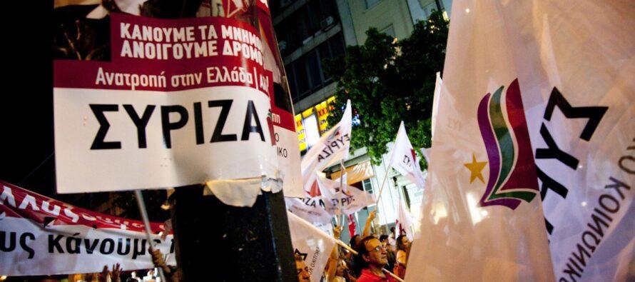 In tutti gli ultimi sondaggi Syriza in vantaggio
