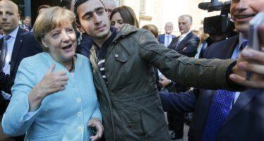 L'onere è di tutti, il messaggio della cancelliera a Bruxelles