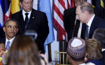 """Summit Obama-Putin dialogo sulla Siria """"Pronti a collaborare"""""""