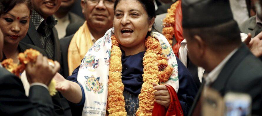In Nepal una presidente femminista ecomunista