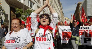 Contratti pubblici, sindacati pronti allo sciopero
