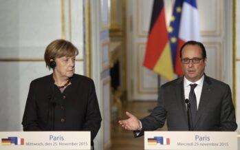 La tela di Hollande tra Mosca e Berlino