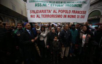 """""""Not in my name"""": comunità in piazza a Roma e Milano. """"Ma lasciateci costruire le moschee """""""