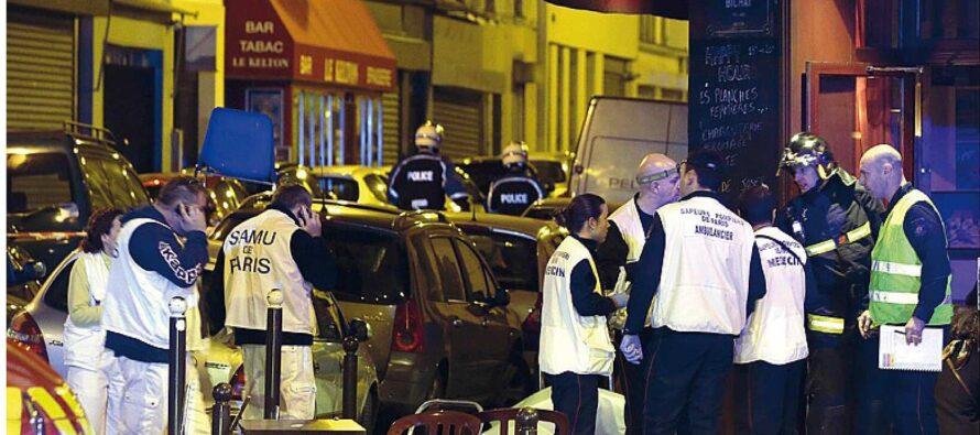 Parigi. Spari, esecuzioni Corpi nelle strade