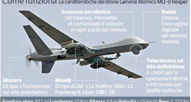 L'America vende all'Italia i droni armati