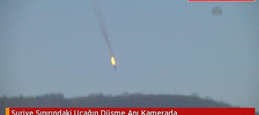 """Caccia russo abbattuto la Turchia: ha sconfinato Putin: """"È un crimine"""""""