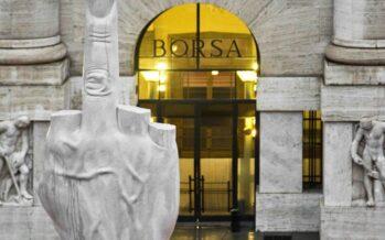 Crisi italiana, panico nella finanza, spread in alto, giù i titoli bancari