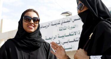 Elette ma segregate in un'altra sala, l'ira delle saudite