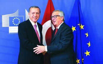 La sfida del Sultano ai leader d'Europa divisi