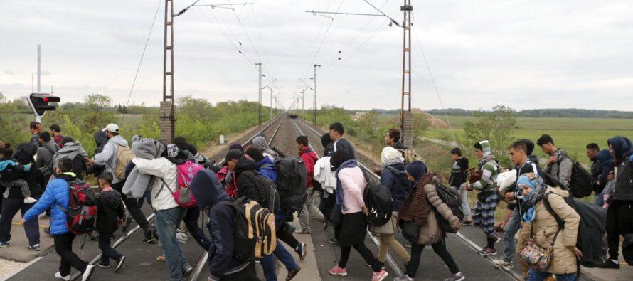 Migranti erifugiati, superato il milione di arrivi