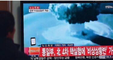 Missile nordcoreano sorvola il Giappone. Trump: «Aperti a ogni opzione»