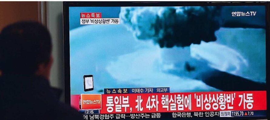 Nord Corea, tre missili in tre settimane