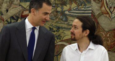 Rajoy rinuncia all'investitura Iglesias in jeans dal re per il nuovo governo
