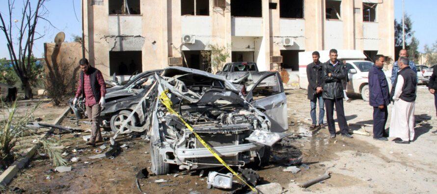 La Libia tra raid anonimi eoperazioni umanitarie