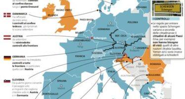 """Scontro sui controlli """" Grecia fuori da Schengen """" Fmi: """"Ue in bilico"""""""