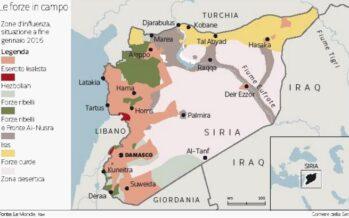 Decine di missili e jet così la Russia combatte in Siria