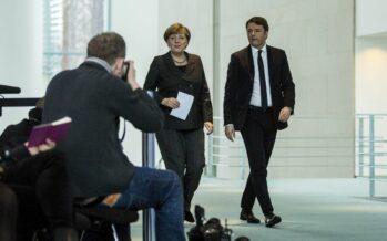 Hollande e Renzi da Merkel l'Europa sul filo cerca lo scatto