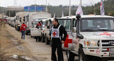 Siria, arrivati i primi convogli d'aiuti