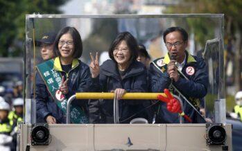 La prima presidente donna di Taiwan
