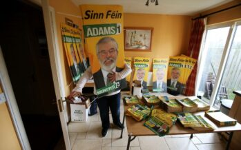Voto in Irlanda, cresce il Sinn Féin di Gerry Adams