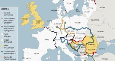 Quei muri dove da sempre si scontrano lingue e popoli