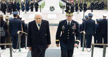 Mattarella e l'offerta a Obama Niente raid ma leadership in Libia