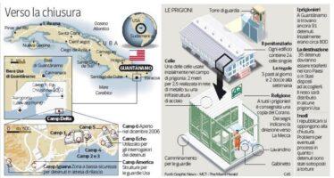 Obama, l'ultimo rilancio per chiudere Guantánamo «È contro i nostri valori»